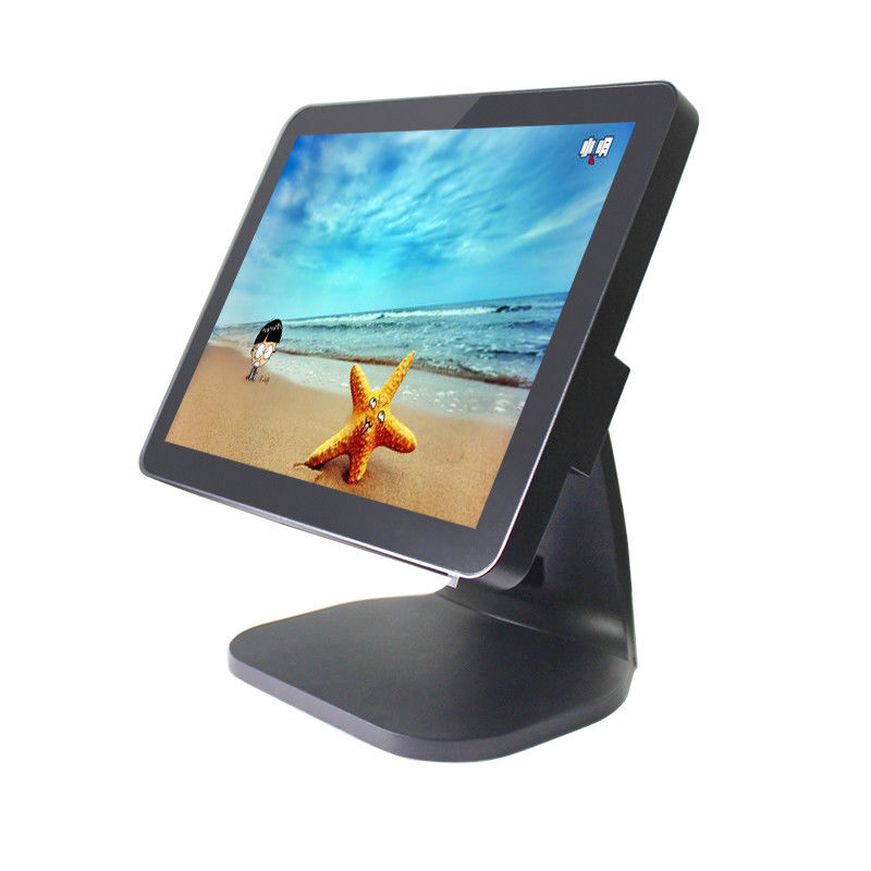 Fanless CPU Touch Screen Pos System 10 Points Capacitive Touch Screen